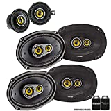 Kicker Dodge Ram Crew Cab 2012 & up speaker bundle- 2 pairs of CS 6x9' speakers, & a pair of CS 3.5' speakers
