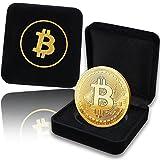✅ COFANETTO PREGIATO- La moneta Bitcoin rivestita in oro viene consegnata in un pregiato cofanetto da collezionisti in una capsula protettiva. Tutto ciò la rende il regalo perfetto per i veri amanti del Bitcoin. ✅ RIVESTITA IN ORO - Le nostre monete ...