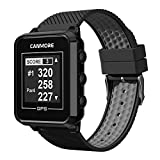 CANMORE TW-353 GPS Golf Watch - Essential Golf Course Data and Score Sheet - Minimalist & User Friendly - 38,000+ Free Courses Worldwide - 4ATM Waterproof - 1-Year Warranty - Black