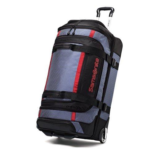Samsonite Ripstop Wheeled Rolling Duffel Bag, Blue
