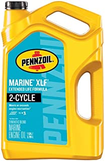 Pennzoil Marine XLF Engine Oil, 1 Gallon – Pack of 1