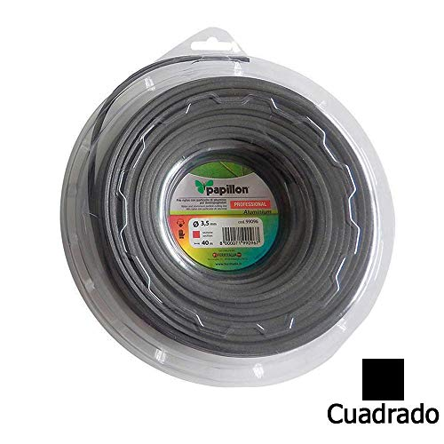 FILO NYLON E ALLUMINIO QUADRO PER DECESPUGLIATORE (3mm. - 50mt.)