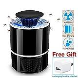 AICase USB UV Lampe Anti Moustique Électrique Tueur de Moustique Tueur...