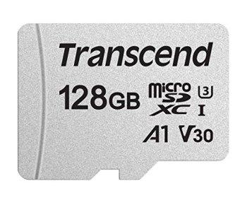Transcend Carte Mémoire microSDXC - UHS-I Classe 3 - 3D NAND - sans adaptateur