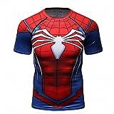 Cody Lundin® Hombres de compresión y Fitness Ropa Deportiva T-Shirt,3D superhéroe Superpersona...