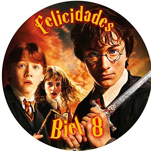 OBLEA de Harry Potter Personalizada con Nombre y Edad para P
