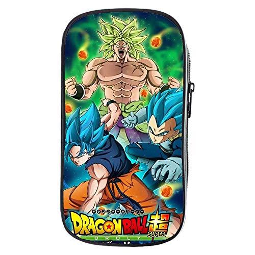 JJZZ Dragon Ball Astuccio per Studenti, Astuccio, Astuccio per la Scuola, Astuccio per Scuola, Astuccio per Ragazza, Astuccio per Ragazza, Astuccio per Ragazze Astucci