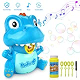 Bubble Machine for Kids, Pickwoo Automatic Bubble Blower Indoor & Outdoor Activities with LED Light and Music, Kids Portable Bubble Maker with Dual Mode, Bubble Blower Toys for Kid Toddlers Boys Girls