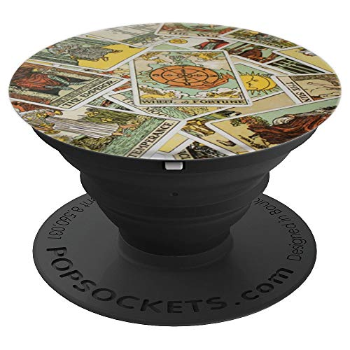 Tarot Cards Wheel of Fortune Good Luck PopSockets Grip and...