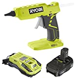 Ryobi Glue Gun P305 with Charger & Lithium-ion battery P128