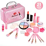 AstarX Makeup Toys for Kids,Real Washable Cosmetics Safe & Non-Toxic Beauty Set for Party Game Halloween Christmas Birthday