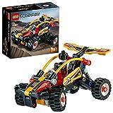 LEGO Technic Buggy, Set di Costruzioni Ricco di Dettagli per Bambini 7+ Anni, Esperienza di Gioco 2in1, Potrai Costruire un Buggy o una Fantastica Macchina da Corsa, 42101