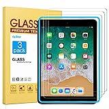 apiker Lot de 3 Verre Trempé Compatible pour iPad 9,7 Pouces (modèle 2018 et...