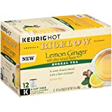 Bigelow Tea  Lemon Ginger Keurig K-Cups, 12 Count (Pack Of 6), 72 K-Cups Total
