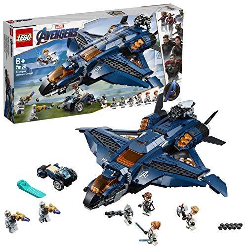レゴ(LEGO) スーパー・ヒーローズ アベンジャーズ・アルティメット・クインジェット 76126 ブロック おもちゃ 男の子