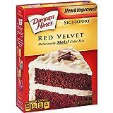 Duncan Hines Moist Deluxe Red Velvet Cake Mix 468g