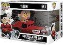 La Carica dei 101 Cruella in Car Pop Rides Vinyl Figure 61 Funko Pop! Standard