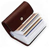 👉✔The Rectangle Card Holder Case Is Designed For Credit Card, Id Card, And Any Other Cards. 👉✔Great for Personal Use as well as for Gift to your Friends, Family, Employees. 👉✔Pocket Size Leather Card Case Easily Fit in to your Pocket , Purse ,Hand ba...