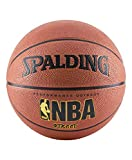 Spalding NBA Street Outdoor Basketball, Size 6 - Intermediate (28.5'), Orange