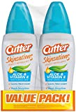 Cutter Skinsations Insect Repellent Pump Spray, 2/6-Ounce