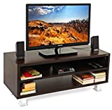BLUEWUD Leo TV Unit/Entertainment Center Table (Wenge)