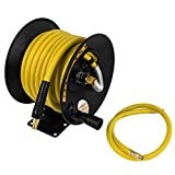 "DeWalt DXCM024-0348 3/8"" x 50' Manual Hose Reel with Rubber Hose"