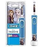 Oral-B Kids - Cepillo Eléctrico Recargable con Tecnología de Braun, 1 Mango de Frozen de Disney,...