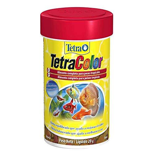 Tetra Color Flakes 20g Tetra Para Todos Os Tipos de Peixe Todas As Fases,
