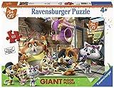 Ravensburger 44 Gatti Puzzle, Giant, 60 Pezzi, 03005