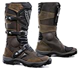 Forma Adventure Off-Road Motorcycle Boots (Brown, Size 10 US/Size 44 Euro)