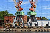 Puzzle pour Adultes Lettonie Liepaja Harbour Puzzle 1000 pièces Souvenir...