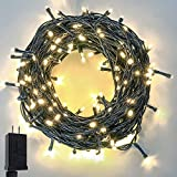 Extra-Long 95FT 240 LED Christmas String Lights Outdoor/Indoor, Ultra-Bright Christmas Tree Lights...