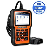 FOXWELL NT510 Elite Reset Tool for BMW OBD2 Code Reader Car Diagnostic Scanner Automotive Mechanic Scan Tools Full Systems All Functions with SRS TPMS SAS Battery Registration[Latest Version]