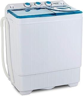 KUPPET Compact Twin Tub Portable Mini Washing Machine 26lbs Capacity,..