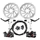 Yorbay Kit de freins à disque pour vélo Disques de 160 mm pour...