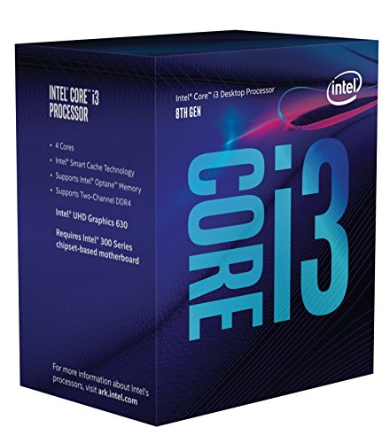 Intel Core i3 8300 - Procesador (3.7GHz, 8MB Cache, 1150MHz GPU, 62W) Color Plata