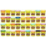 Play-Doh - 36 pots de Pate à Modeler - Couleurs Multiples - 85 g Chacun