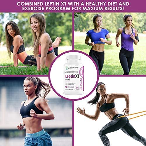 NatureGenX - Leptin XT (2-Pack) Leptin Rresistance Supplements for Weight Loss -Leptin Hormone Supplements - Vegan - 60 Pills -Leptin Burn for Women 8