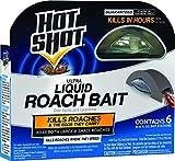 Hot Shot HG-95789 Roach Killer, 6-Count, Brown/A
