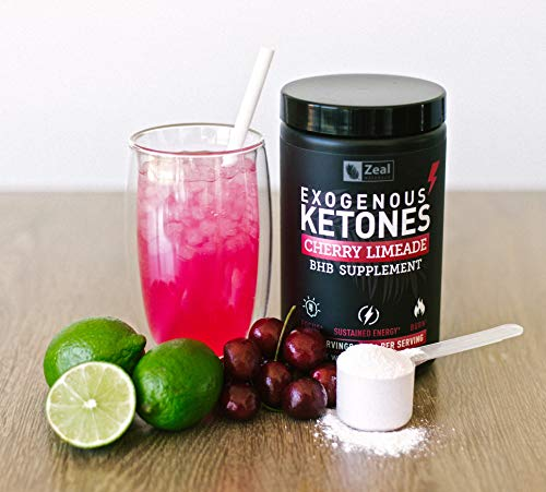 Pure Exogenous Ketones BHB Powder | Cherry Limeade (13g | 22 Servings) Best Tasting Keto Drink with BHB Salts Beta Hydroxybutyrate Supplement - Keto Powder for Weight Loss, Energy & Ignite Ketosis 3