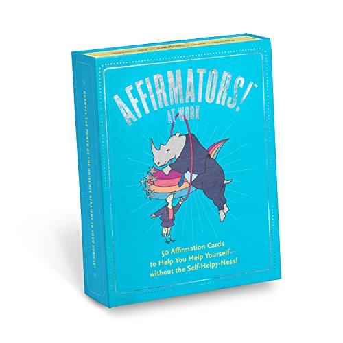Affirmators! at Work Deck: 50 Affirmation Cards to Help You...