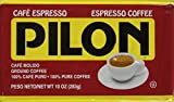 Pilon Espresso 100% Arabica Coffee, 10-Ounce Bricks (Pack of 4)