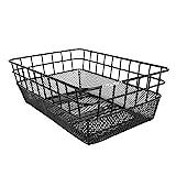 Sunlite Rack Top Wire/Mesh Basket, 10.25 x 15 x 5', Black