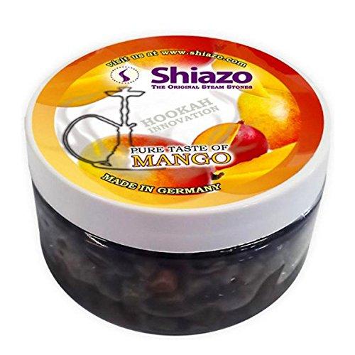 Shiazo - Piedras granuladas para cachimba (sustituye a tabaco, sin nicotina, 100 g), mango