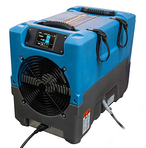 DRI EAZ F413 Revolution LGR Compact Dehumidifier, Portable, Up to 17 Gallons/Day