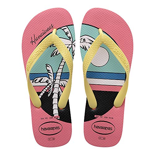 Havaianas Top Vibes, Infradito Donna, Multicolore (Pink Porcelain 7600), 35/36 EU