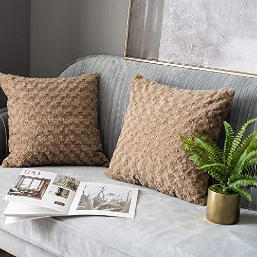plush soft throw pillows