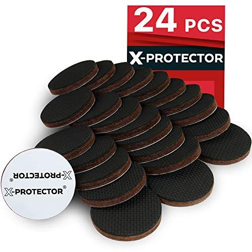 Piedini antiscivolo gomma X-PROTECTOR Premium piedini adesivi per mobili Piedini di gomma adesivi...