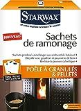 Sachet de ramonage poêles à pellets - granulés Starwax - 3 x 40 g