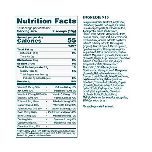 Nuzest Kids Good Stuff - Multivitamin Drink, Wild Strawberry, 15 Servings, 7.9 oz 4